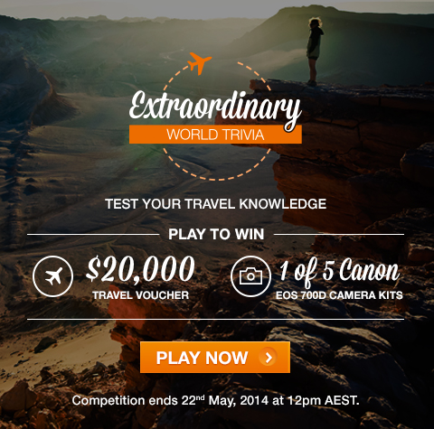 Extraordinary World Trivia Campaign