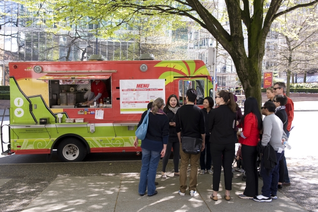 Vancouver mobile food stops